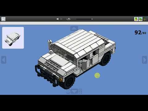 Custom Lego Humvee Tutorial