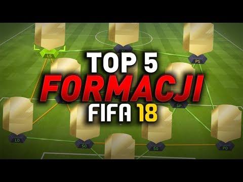 FIFA 18 - 5 Najlepszych formacji!