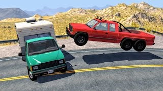 Best of Realistic High Speed Crashes #2 - BeamNG Drive