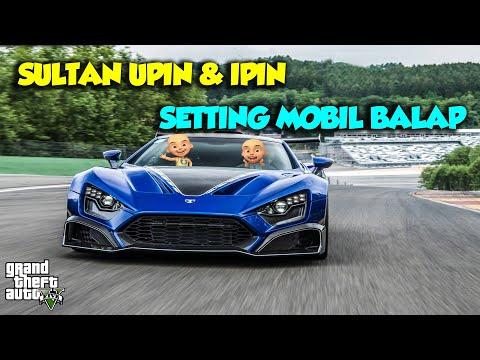 Sultan Upin punya mainan Mobil Zenvo TS1 GT buat balap DRIFT – GTA V Upin Ipin Episode Terbaru 246