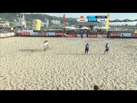 Alfa Lebanese Beach Soccer Championship - Semifinal Game - Horiye Sayda v/s Ahly Khiyam