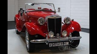 MG TD Cabriolet 1953 -VIDEO- www.ERclassics.com