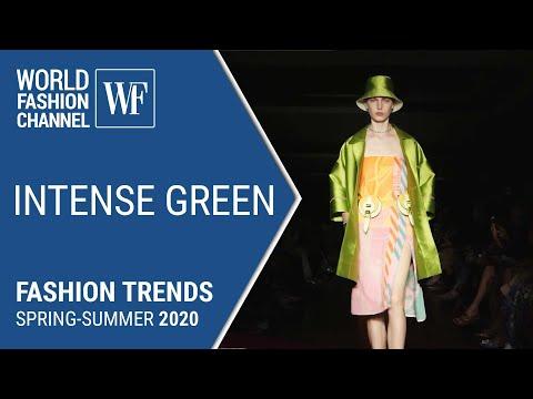 Intense green | Fashion trends spring-summer 2020