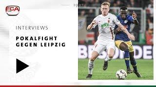 18/19 // Interviews nach Leipzig // Bittere Niederlage nach leidenschaftlichem Pokalfight