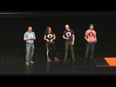 2017 Rockford Ninja Warrior Launch Event from Rockford High School