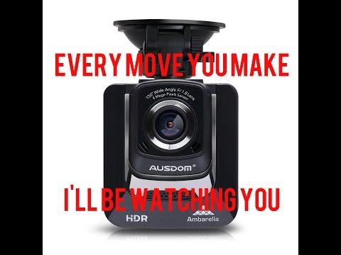 Ausdom AD282 Dash Cam Review And Demo