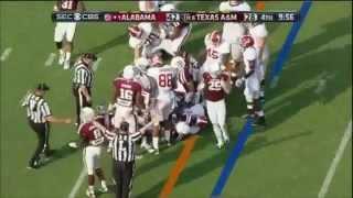 2013 #1 Alabama vs. #6 Texas A&M Highlights