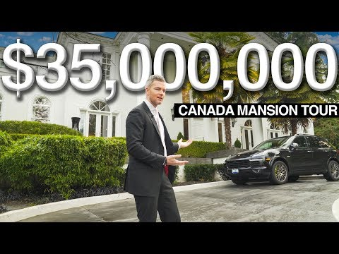 $35 MILLION CANADA MANSION TOUR WITH DAN LOK | Ryan Serhant Vlog #59