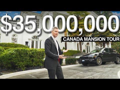 $35 MILLION CANADA MANSION TOUR WITH DAN LOK | Ryan Serhant Vlog #59