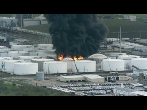 Shelter-in-place ordered due to benzene levels in Texas city where chemicals facility burned for 3 days