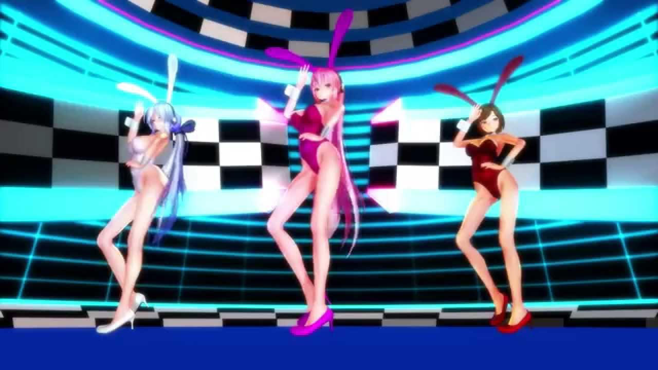 画像: 【MMD】Girls 【ルカ・MEIKO・ハク:Bunny Girl】 youtu.be