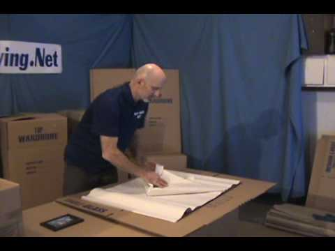 How to Pack Small Framed Pictures - Movers-Moving.NET - YouTube
