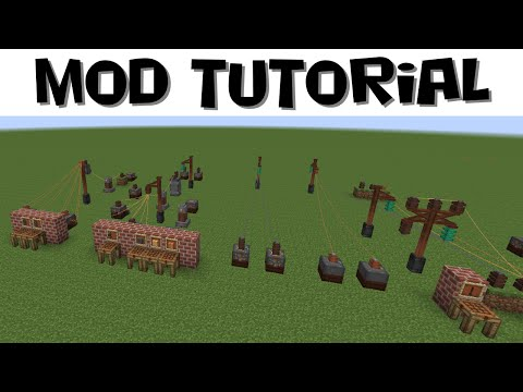 Immersive Engineering Tutorial #2 - Power Distribution And Networks (MC 1.7.10)