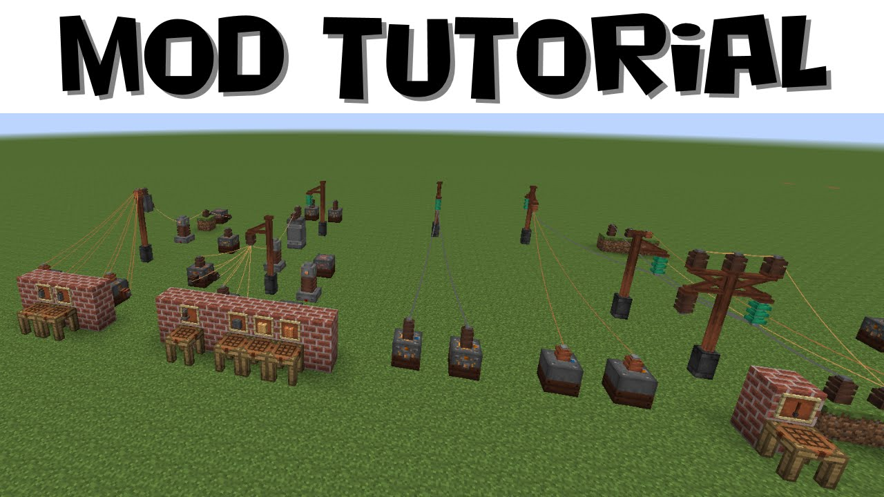 Immersive Engineering Tutorial #2 - Power Distribution and Networks ...