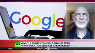 Trick & Track! Google admits collecting location data from Android users