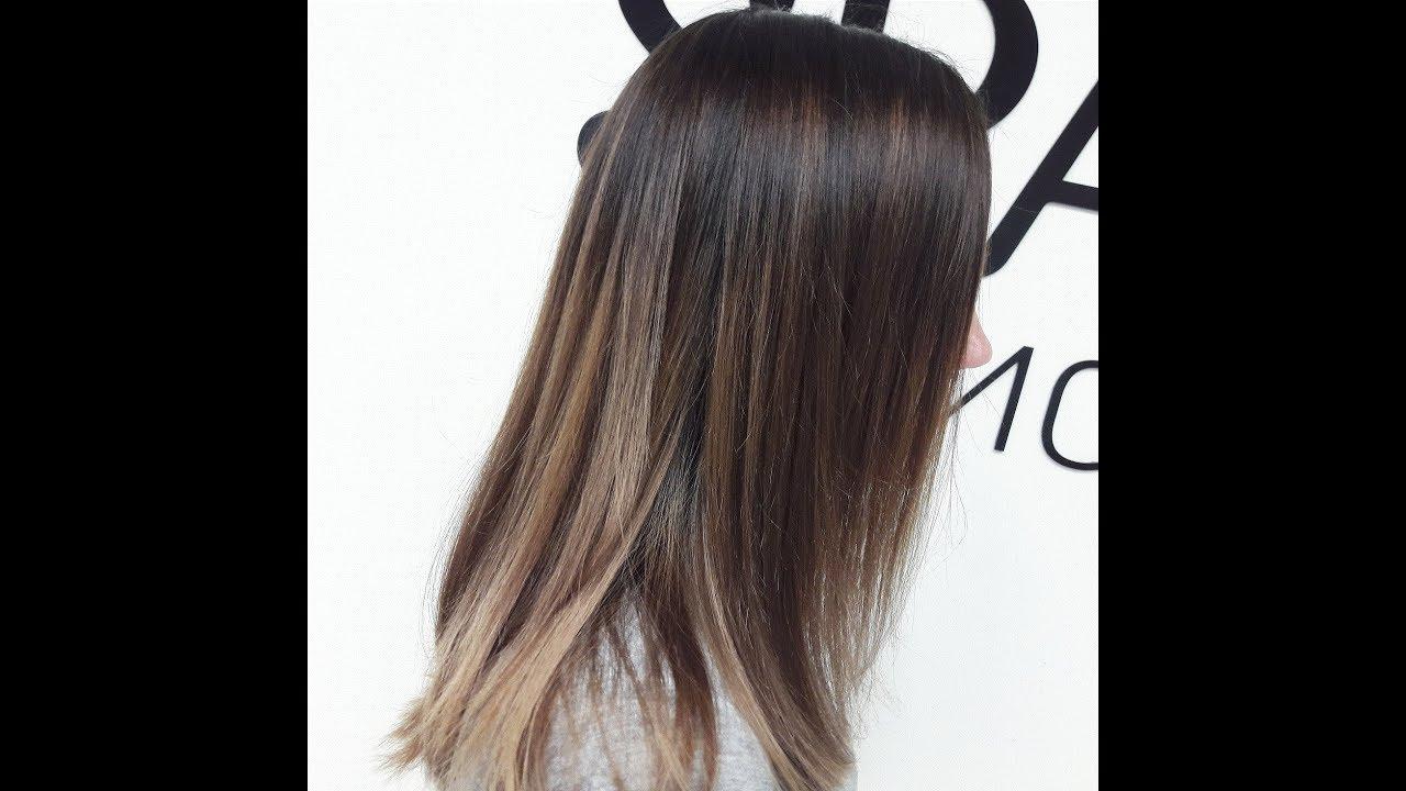 Окрашивание омбре на темные волосы: фото до и после (36 фото ... | 720x1280