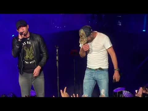 Cole Swindell Fiddlers Green 2017 - Flatliner