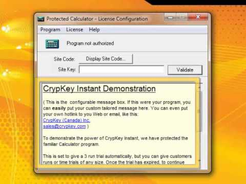 Fast And Easy Software Copy Protection - CrypKey INSTANT