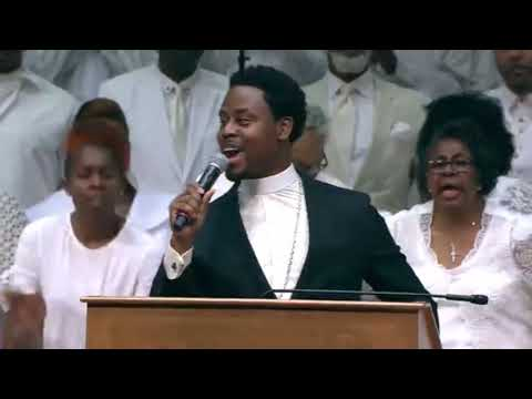 """Reverend Clay Evans Funeral: """"What A Fellowship"""""""