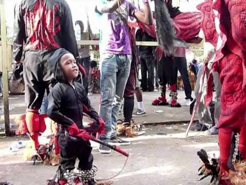 "Le festival des ""Diablos y Congos"" à Portobelo au Panama"