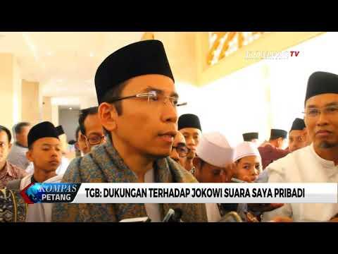 TGB Angkat Bicara Soal Dukungannya Kepada Jokowi