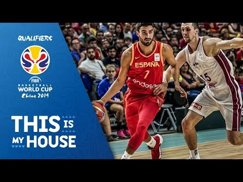 Spain v Latvia - Highlights - FIBA Basketball World Cup 2019 - European Qualifiers
