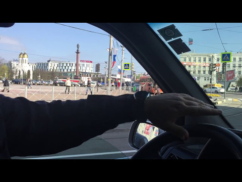 Kaliningrad-samochodem przez centrum miasta