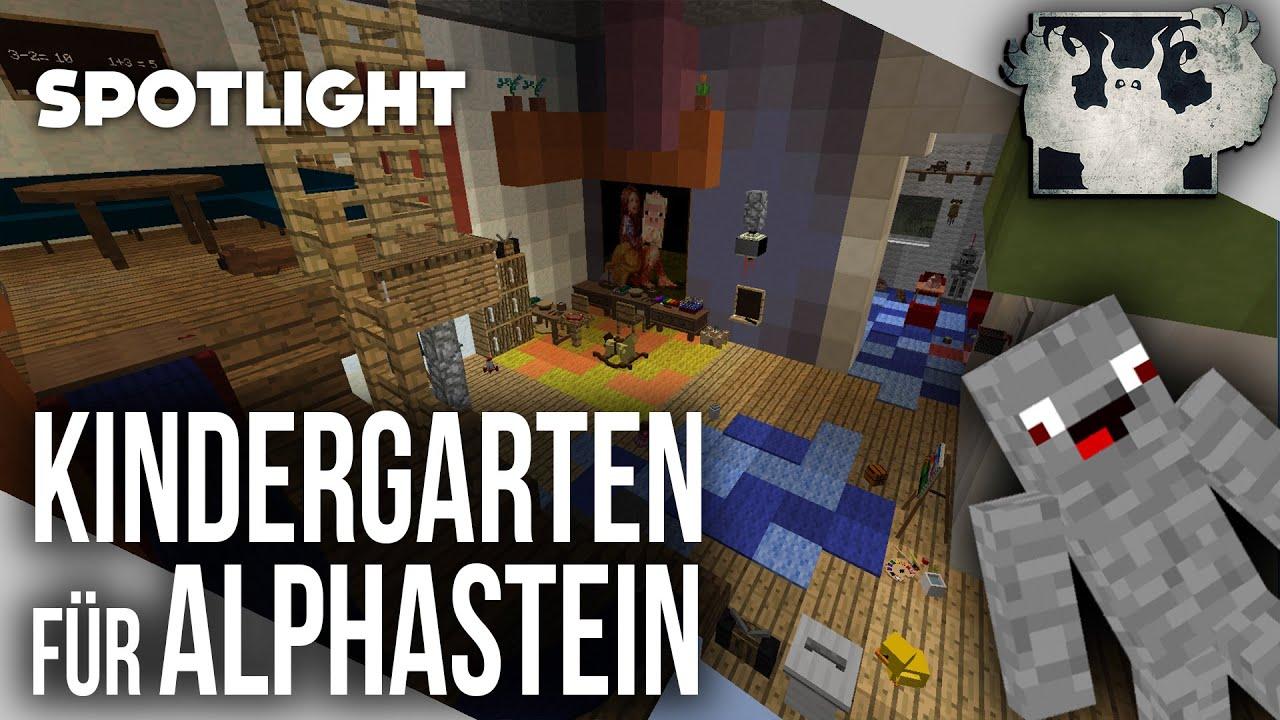 Minecraft Kindergarten Map Für Alphastein Spotlight YouTube - Minecraft maps fur kinder