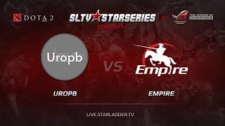 UroPb vs Empire, SLTV Europe Season 11, Day 9