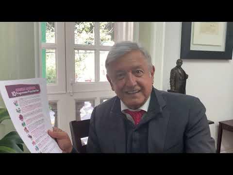 AMLO sobre próxima Consulta Nacional de 10 programas prioritarios del próximo gobierno