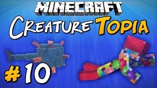 WATER TEMPLE - Minecraft: CreatureTopia Ep.10