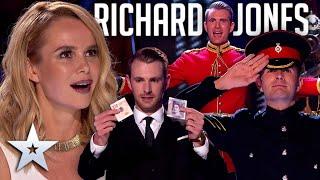 Every MAGICAL performance from Richard Jones | Britain's Got Talent