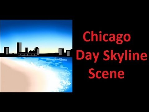 Black Ops 2 Chicago Day Skyline Scene Emblem Tutorial * KnLEmblems