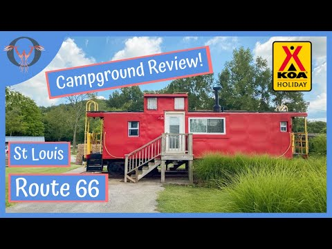 St Louis West Route 66 KOA Holiday - Campground Review   RV Life