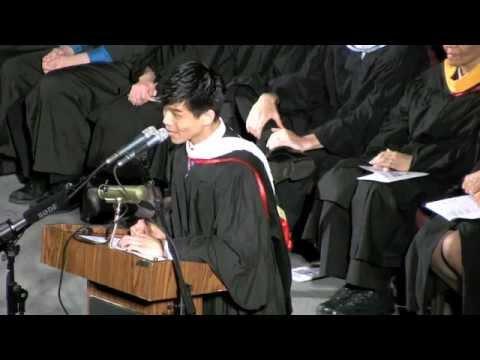 Stuyvesant H.S. Commencement 2012, Keynote Speaker Telly Leung