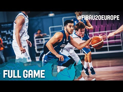Iceland v Israel - Full Game - Quarter-Finals - FIBA U20 Eur