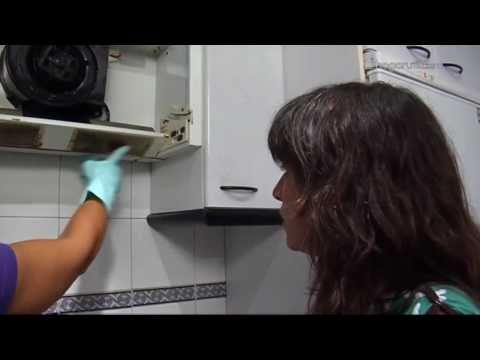 Poner una campana extractora en la cocina doovi - Instalacion campana extractora ...