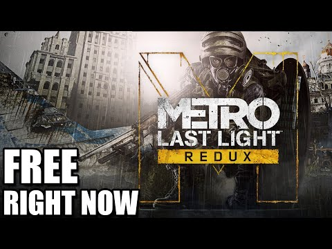 Metro Last Light Redux is Free Right Now - Grab it Quickly! [Epic Games Store]