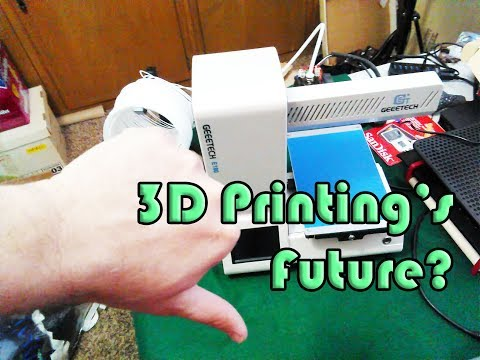 Geeetech E180 and the Future of 3D Printing - March MadMess