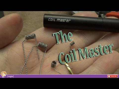 [vape] Coil-Master ~ Coil Winder Tool ~ Review And Demo