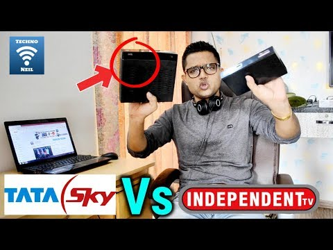 Reliance Big TV Exclusive  YouTube पर पहली बार Tata Sky से Independent DTH TV का मुकाबला