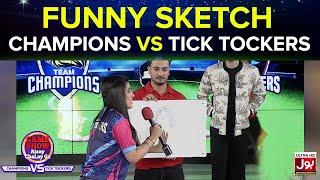 Funny Sketch | Game Show Aisay Chalay Ga League | TickTocker Vs Champions