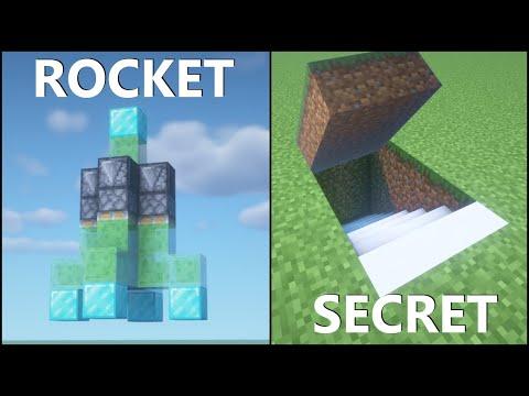 Minecraft: 10 Simple Redstone Builds! - BBlocks