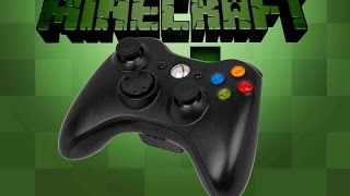 Play Minecraft game with Xbox 360 controller in PC