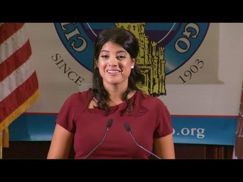 Anna Valencia, Clerk, City of Chicago