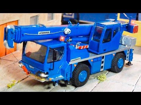 Мультфильм про трактор кран и грузовик