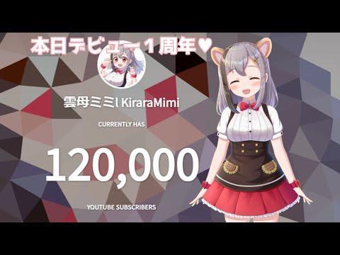 bom dia parça~♥本日デビュー1周年&12万人ありがお!