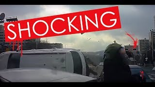 shocking car crash compilation - most shocking