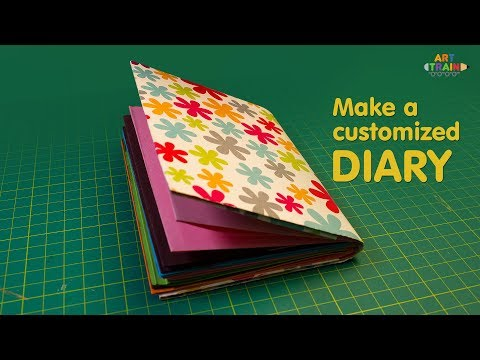DIY Customized Handmade Diary