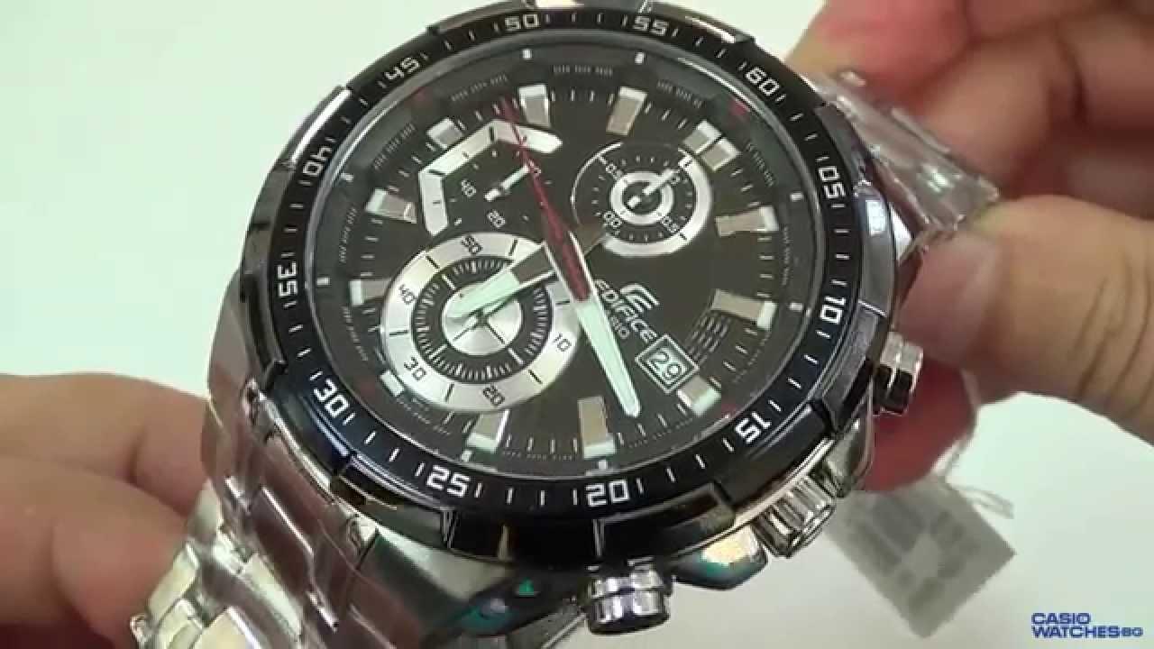 9678e8b258b1 Casio - Edifice EFR-539D-1AVUEF - YouTube